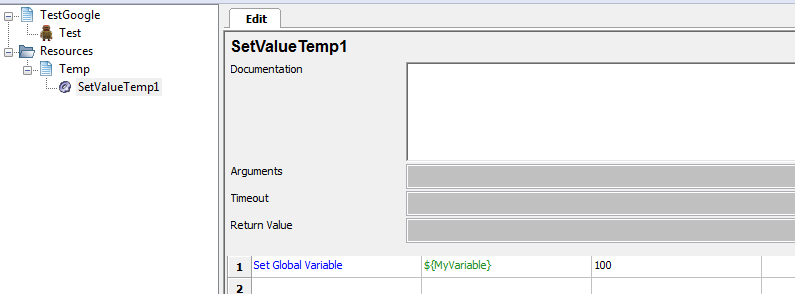 How to use Global Variables in RobotFramework | Crazy blog